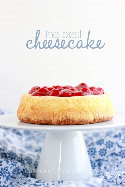 The best cheesecake recipe