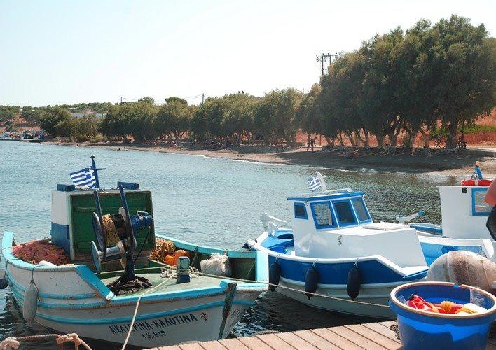 Potha beach on Telendos.