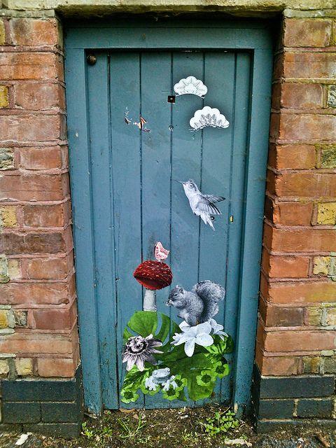 Painted Door by garryknight, via Flickr