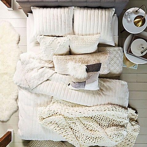 Ugg 174 Alpine Faux Fur Comforter Set Comforter Sets Fur