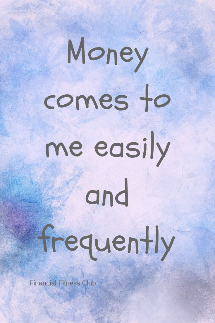 Printable Wealth Affirmation Cards | Manifesting Money and Abundance | Inspiration | Empowering