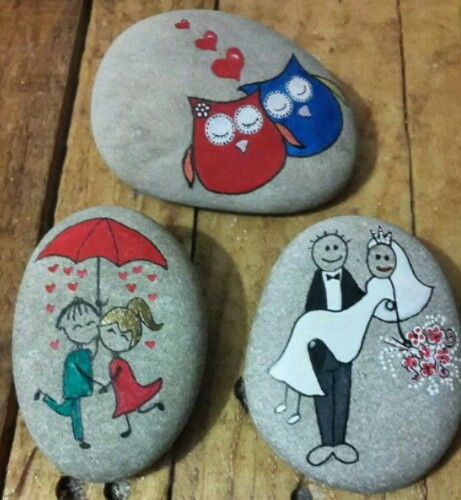 Not just Rocks! ART! When I was totally broke back in the day! And going through my painting phase! I LOVED to paint everything! I used to paint potatoes and rocks to give away to friends and family members! You can also sell them to make extra cash! I found people actually like them! Great way to make some extra income for your trip!
