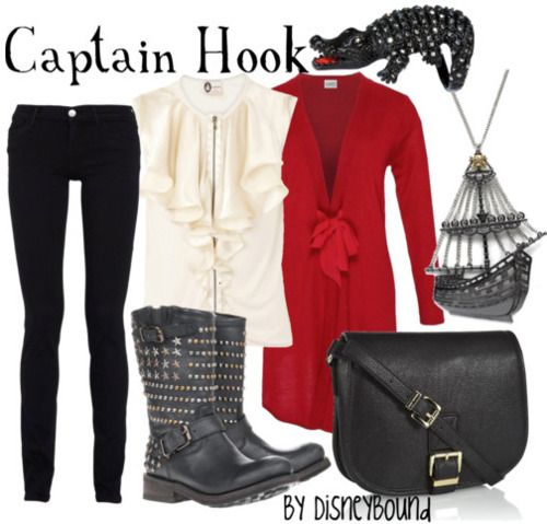 Captain Hook by disneybound