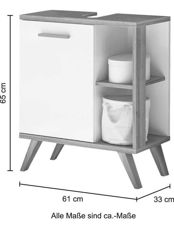 Pelipal Waschbeckenunterschrank Noventa Waschbeckenunterschrank Breite 61 Cm Waschbeckenunterschrank Badezimmer Unterschrank Schrank Zimmer