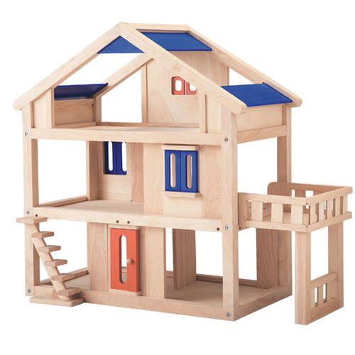 Dwupiętrowy domek dla lalek