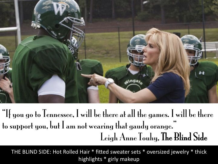 essay on the blind side The blind side i still remember the movie poster showing a picture of a small woman holding the hand of a gigantic football player leading him onto the.