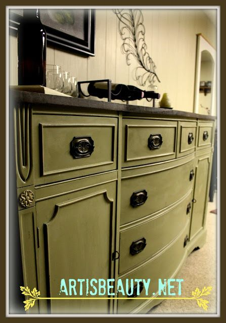 ART IS BEAUTY: Rescued Federal style Buffet Turned Bar