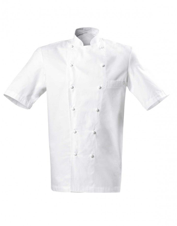 Bragard Grand Chef Jacket short sleeve with chest pocket