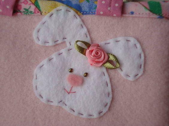Confira vários moldes para fazer artesanato em feltro e tecido!