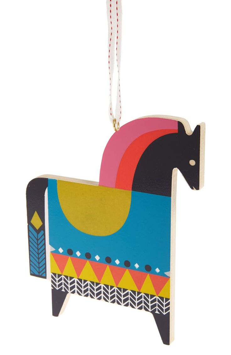 Nordstrom at Home Wooden Horse Ornament | Nordstrom