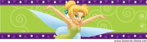Tinkerbell free printable candy bar label - I can edit some