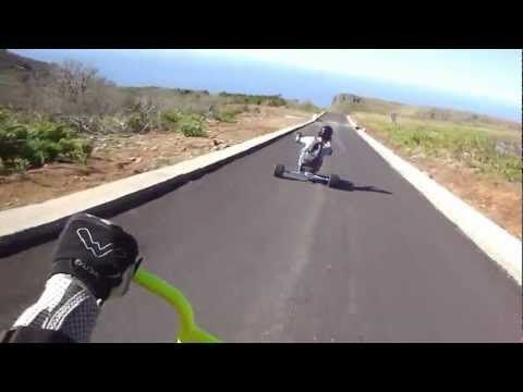 ZonaAlta Drift Trike Team - Pico Arieiro - Barreira part1 - YouTube