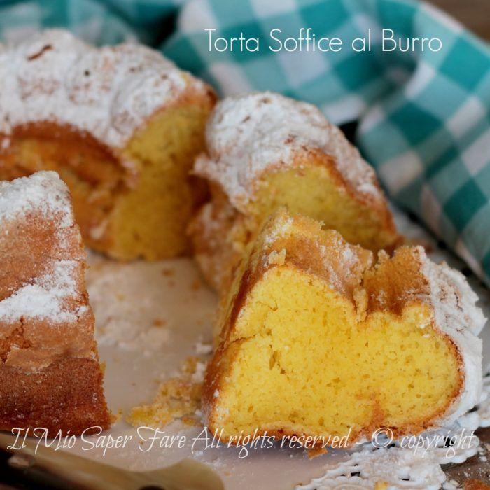 Torta soffice al burro un dolce con 2 uova facile, goloso e veloce. Molto simile alla torta danese al burro, soffice e umida che quasi si scioglie in bocca