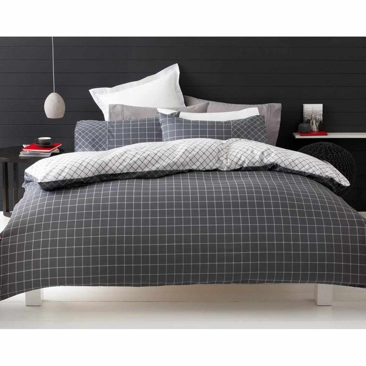 Trent Print Quilt Cover Set - Single Bed | Kmart