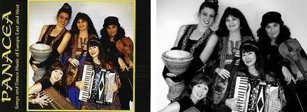 Panacea yorumuyla Avrupa şarkıları ve dans müziği (Songs and Dance Music of Europe)
