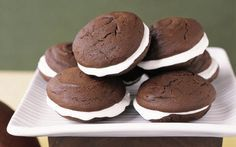 Whoopie Pies began as a New England tradition and were associated with Amish farmers. They consist of two large flat cakes with a creamy filling. But Whoopie Pies have now become one of the hottest new gourmet trends with mixes, pans and whoopee extras being sold in high end gourmet stores.