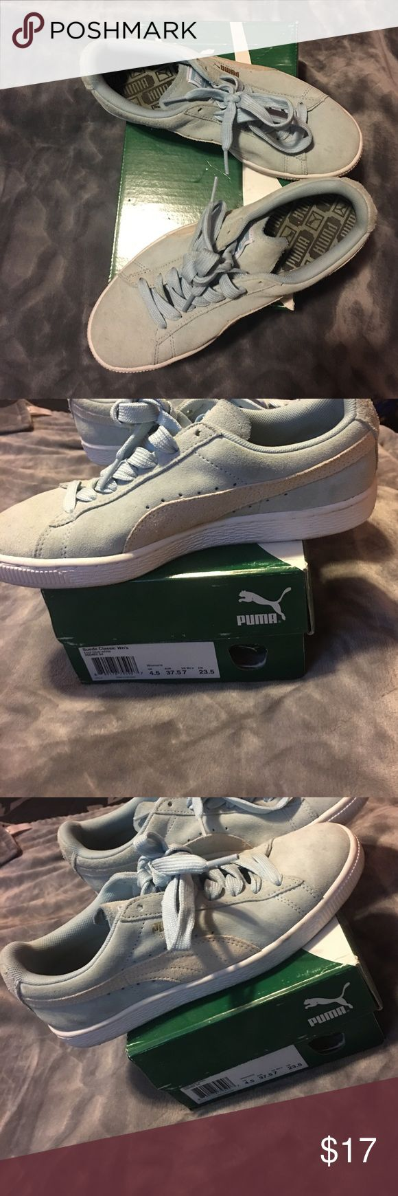 Selling this Puma women gym shoes on Poshmark! My username is: mariexo____. #shopmycloset #poshmark #fashion #shopping #style #forsale #Puma #Shoes