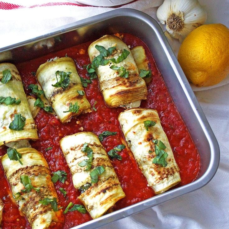 Eggplant parmesan was among one of my favorite dishes growing up. The crispy breading surrounding the soft delectable eggplant, smothered in tomato sauce and melted mozzarella would be my go-to dish at the local Italian restaurant.  Although the meal tasted so good going down, I never felt great in the aftermath. The heavy cheese and...Read More