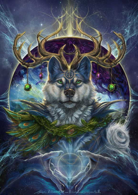 The Starry Wolves - Zilven's Artwork