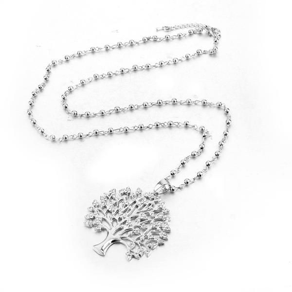 Tree of Life | Gold & Silver Plated + Austrian Crystals | 2 Styles