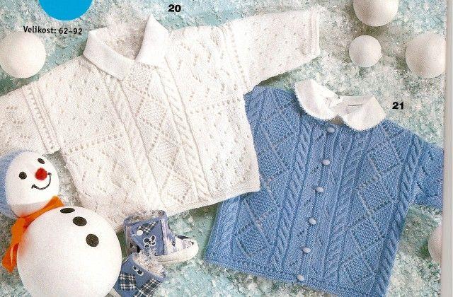 různé návody na pletení pro miminka