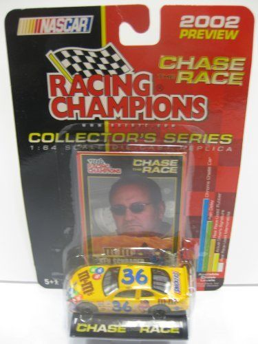 2002 PREVIEW EDITION - Chase The Race - #36 KEN SCHRADER - M's NASCAR - ERTL - Collectors series 1:64 Die-cast by ertl. $8.25. #36 Ken Schrader. Collectors series CHASE THE RACE CAR. 2002 preview edition. Ages 5+. 1:64 scale die-cast replica. 2002 PREVIEW EDITION - Chase The Race - #36 KEN SCHRADER - M's NASCAR - ERTL - Collectors series 1:64 Die-cast