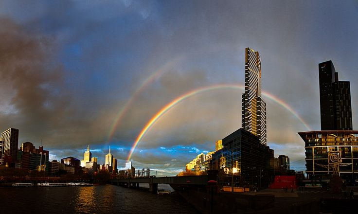 Eureka Double Rainbow - What does it mean? - Melbourne Street