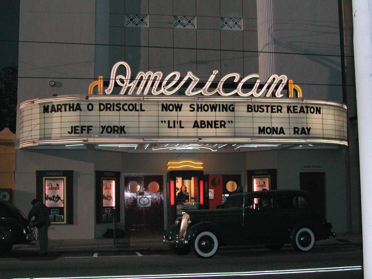 The American Theater plays a starring role in The Notebook, as the setting for Noah & Allie's first date | Charleston, South Carolina