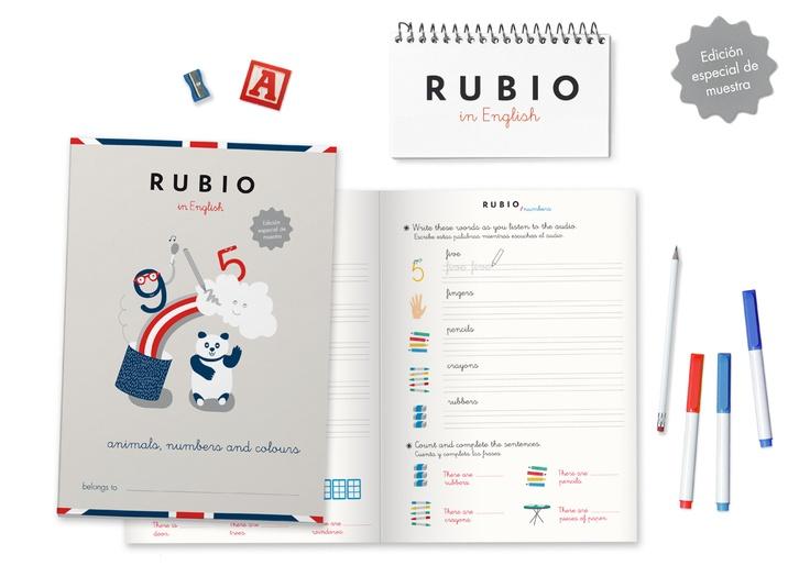 Este mes con la Revista Clan de  RTVE de regalo un cuadernillo especial de Rubio in English. #educación #libros #niños