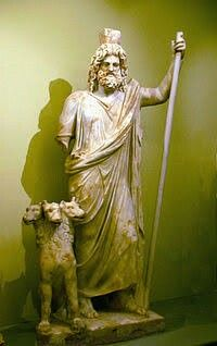 Hades (em grego clássico: Ἅιδης ou Άͅδης; transl.: Haides ou Hades), na mitologia grega, é o deus do mundo inferior e dos mortos.