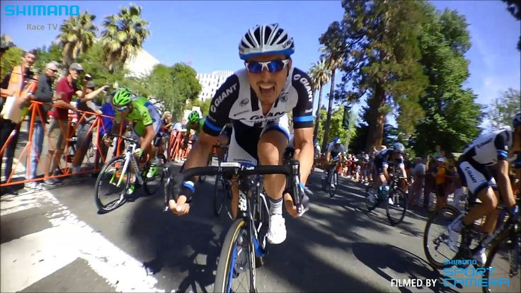 Amazing footage of John Degenkolb's sprint in TOC stage 1