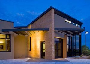 First Platinum rated LEED building in NM.  Cognitive Behavioral Institute, Albuquerque, NM. EDI Architects