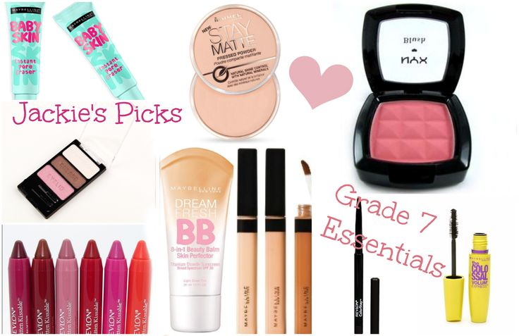 Middle School Drugstore Makeup! My Grade 7 Essentials