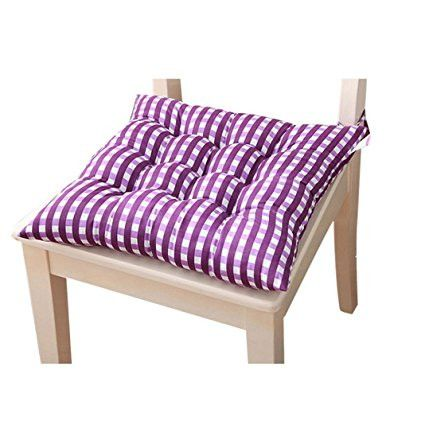 PatioA LEERYA Indoor Home Kitchen Office Chair Pads Seat Pads Cushion (Purple) [Istilo288722]