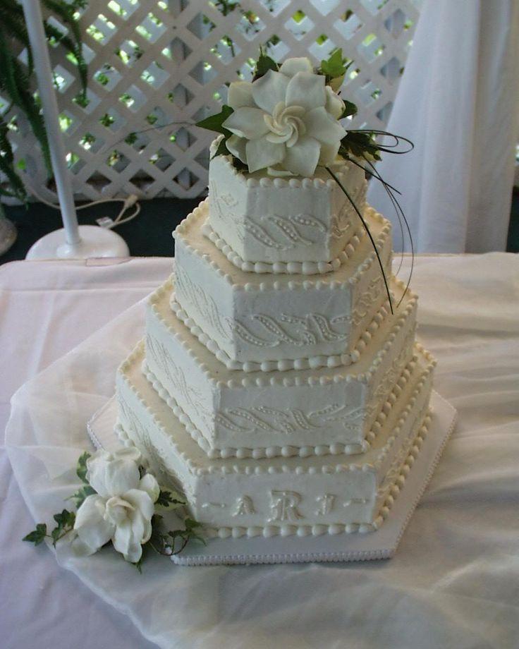 Hexagon Wedding Cakes (4)