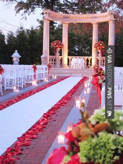 35 best cool wedding decor trends 2016 images on pinterest wedding outdoor wedding decor id probably use different colors but junglespirit Choice Image