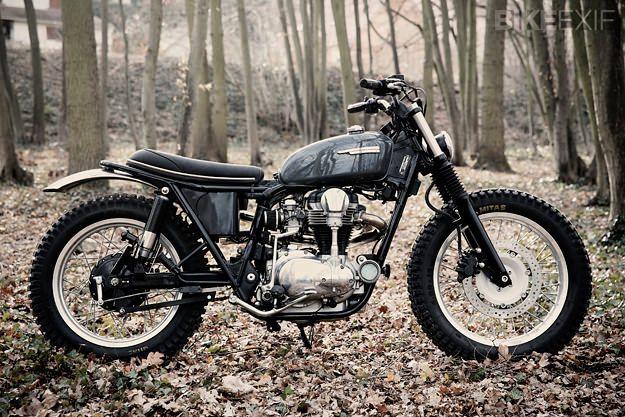 Kawasaki W650 by Nicolas Barthelemy of Skuddesign | France