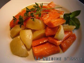 Recette Carottes et navets glacés - La cuisine familiale : Un plat, Une recette