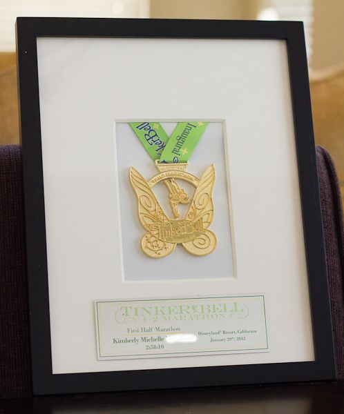 Once I got home from the Tinker Bell 1/2 Marathon with my medal, I knew I wanted to be able to frame it in some nice memorable way. First, because it's just too darn pretty not to, and secondly, because it might be the only running medal I'll ever own and frame. But when I … Read more...