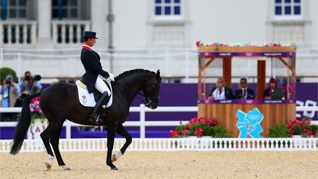 Great Britain made history on Day 11 when they claimed the nation's first Olympic Games Dressage medal and rode away with gold.