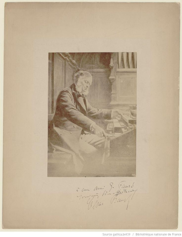 César Franck à l'orgue | Gallica