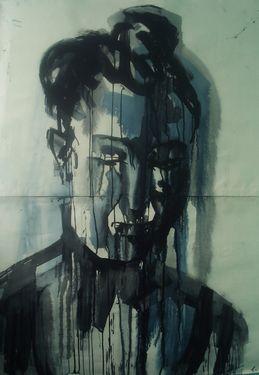 "Saatchi Art Artist Piotr Kachny; Painting, ""FigureBeing II"" #art"