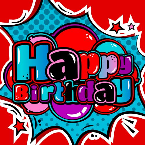 Cartoon-styles-happy-birthday-design-vector-09.jpg (500×500)