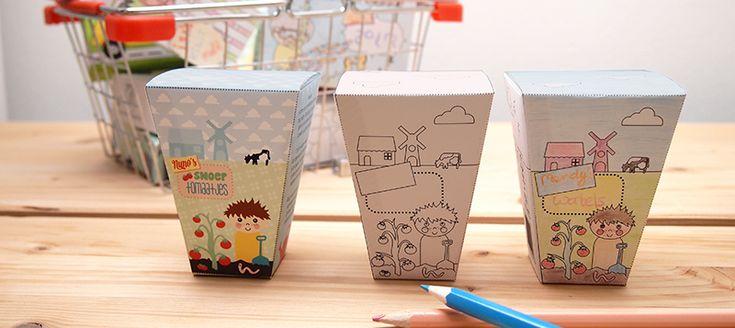 Meld je aan voor de nieuwsbrief van Papiergoed en je ontvangt de 9de verpakking van 'de Ontwerpwinkel' (eerste product van Papiergoed) gratis. Freedownload. | © Papiergoed