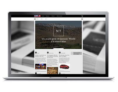 "Check out new work on my @Behance portfolio: ""Arc-Hebdo Webzine"" http://be.net/gallery/34710997/Arc-Hebdo-Webzine"