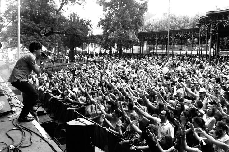 "MONTEVIDEO Live @ Spa ""Francofolies 2016""  https://www.facebook.com/francosdespa https://www.facebook.com/MontevideoMusic photo Mike Black © Micheline des Bois"