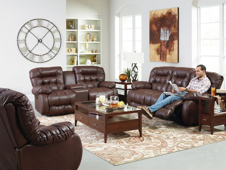 PLUSHER POWER SPACE SAVER RECLINING SOFA BY BEST HOME FURNISHINGS   powerrecline  tufted  leather. 20 best Power Furniture Showcase images on Pinterest