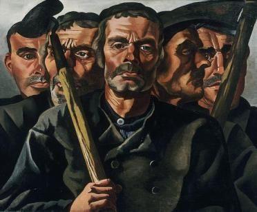 Charley Toorop - Boeren(Farmers) 1939
