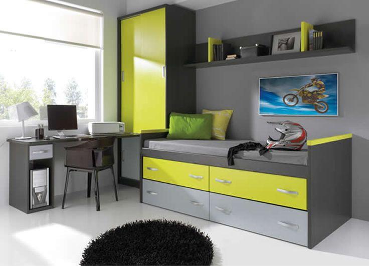 Dormitorios juveniles modernos muebles boom 2 juv mod - Muebles juveniles modernos ...