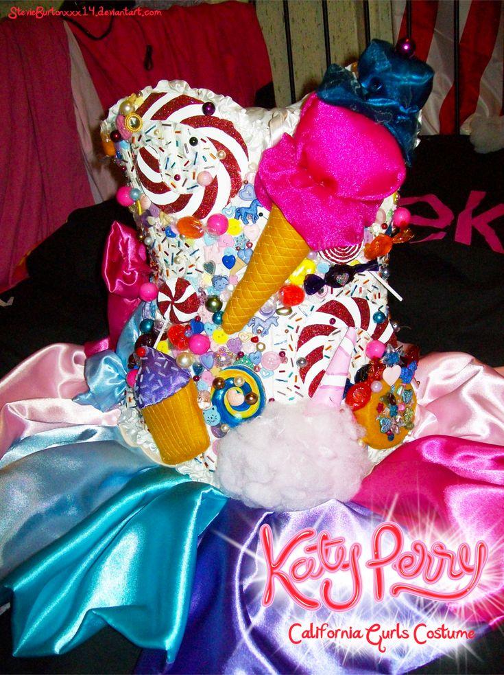Katy Perry candy dress - California Gurls by StevieBurtonXXX14.deviantart.com